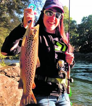 Catherine took this lovely Pondage brown on a day out with her partner Michael.