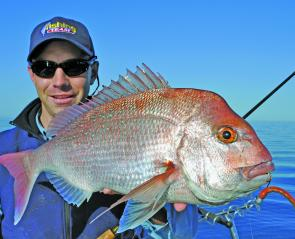 It's been a sensational snapper season in the west and while the bite has gradually started to taper off, there are still fish being caught out wide.