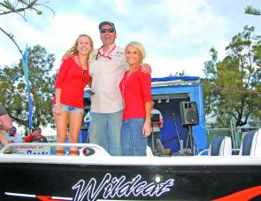 The winner of the randomly drawn Blue Fin Wildcat was Anthony Fullarton of The Jig Spitters. The rig came with a 60hp Suzuki four-stroke on a Special Trailers trailer. Everyone entering is in the running for this great prize.