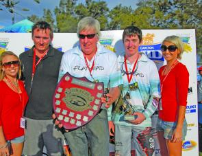 Dead Fishy won overall teams and were crowned Champion 3 Angler Team. Members included David Green, Michael Green and Kelvin Williams.