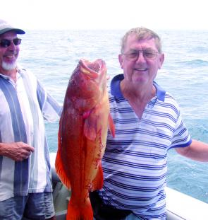 Reef fishing opportunities have dwindled somewhat due to increasing winds but the action should hot up in June.