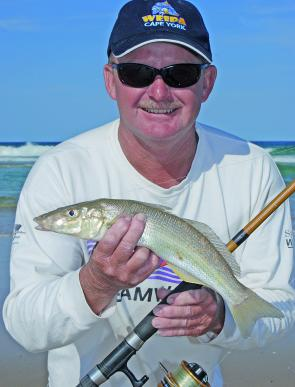 There are still some solid whiting on the beaches if you put in the time.