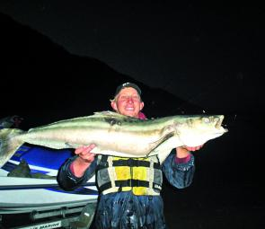 Cobia are available everywhere this month, from inshore to offshore reefs.