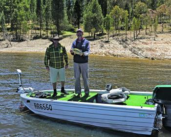 You don't need to own a big, flash bass boat to benefit from using a bow-mounted electric motor!