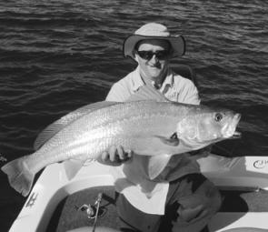 The prize is a 12kg Clarence River jewfish.