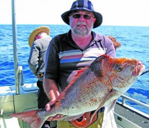 A late run of snapper has been keeping anglers busy.