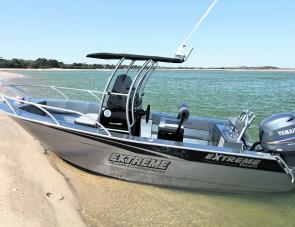 Great looks matched with superb performance in a purpose built fishing boat: the Extreme 570 Centre Console.