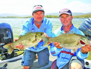 Steve Kanowski and Wayne Beazley from Team Pflueger picked up cash, the overall win, and ultimate bragging rights at the 2011 Megabass Bass Megabucks.