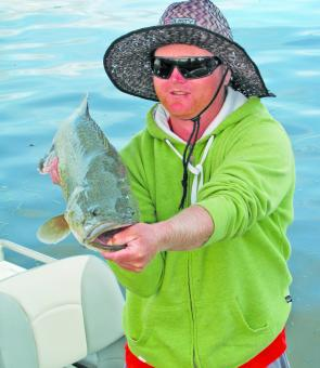 Paul Alford caught this 73cm cod during the Cod Nationals.