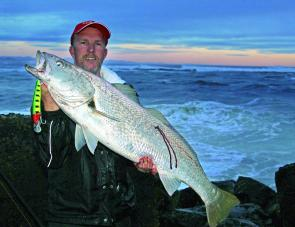 A small fresh and consequent dirty water fired up the jewfish at the Macleay River mouth. Those heading down early or late with minnow lures or fresh squid got in on the short but very welcome flurry of action.
