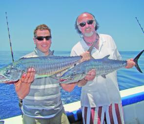 Light tackle sessions on the shelf prior have produced plenty of Spanish mackerel.