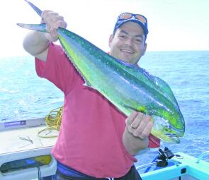 Blue water and high-jumping mahi mahi – what more could you ask for?