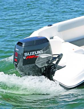 The Suzuki 70hp four-stroke pushes along the Traveler TC 165 comfortably at close to 6000rpm and 32 knots (60kmh).