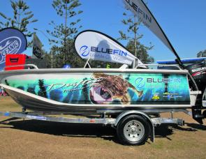The BlueFin Drifter Tournament Pro was a cracking random draw prize that just about every angler fishing was coveting.