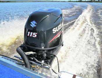 The Suzuki 115hp four-stroke was a fantastic match for the boat and provides a great balance of economy and torque.