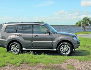 The styling and design of the 2012 Pajero still has plenty of appeal.