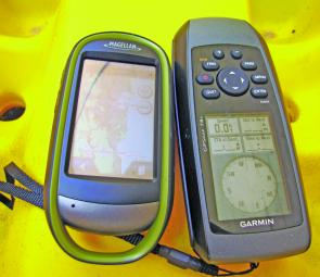 I've used both this Garmin GPS 78s unit and the Magellan Explorist 610, which now comes with marine charts.