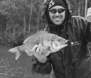 Good catches of bream are being made from the Narrows – a great fishing spot for lure and bait fishers.