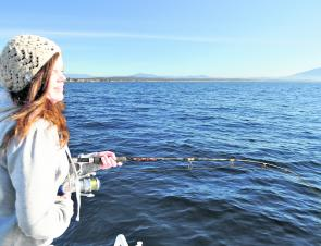 Hooked up solid to another reef fish – what will it be?