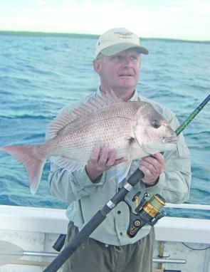 Plump Summer snapper are always welcome over the shallow inshore reefs.