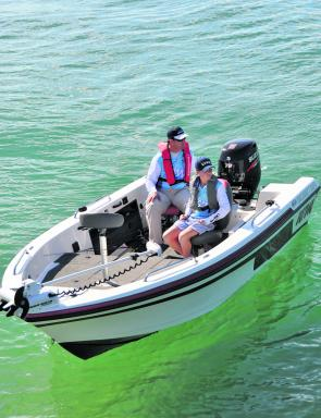 This 17' boat can easily fish three anglers, however two-up it is brilliant for trolling or casting anglers.