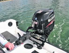 Owner Paul Neilsen is a big fan of four-stroke outboards – they are quiet and fuel-efficient.