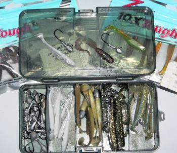Soft plastics are an affordable and easy way to get started into the world of luring.