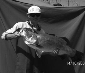 Fish like this barra were available but you had to know where and how to get them.