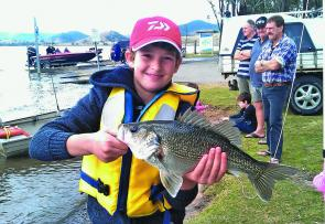 The Bass Bounty competitions have a great atmosphere and are a top place to bring the family.