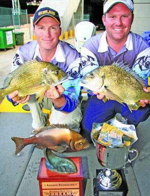 Team Sunline cashed in at the event picking up $1000 in prize money along with Ausea Resources bronze bream and Brisbane Boat Show cup.