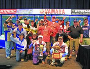 The field was a who's who of tournament fishing, with grand final, AFC, AOY and multiple tournament winners filling out the ten teams.