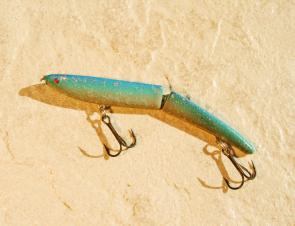 The Zara Gossa is a sub-surface lure which is not widely used in this country.
