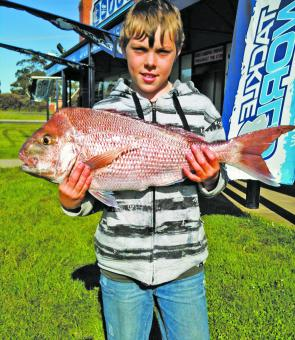 Snapper continue to make an appearance in Western Port.