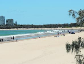 That beautiful beach at Mooloolaba, so popular during the warmth of the day, is a great place to fish at dawn and dusk.