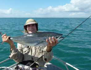 Offshore waters here are very fish rich.