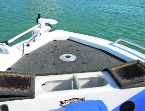 Every angler needs a large front casting deck with huge storage and a suitable live well.