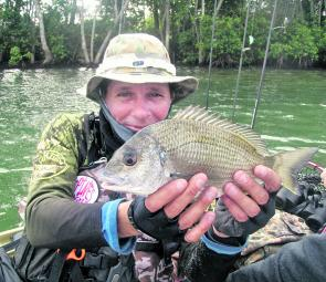 Dave with another nice bream.