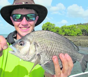 Pikey bream are great fun around structure and put up a fair fight back to the boat.