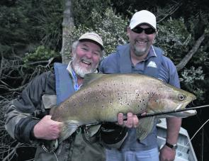 Tassie guru Mason Paull put this chap onto a monster from a western river.