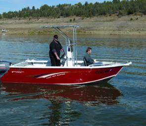 The Pro-Star 5150 Seamaster centre console is primarily built for close offshore fishing and, in the case of the test boat, for diving.