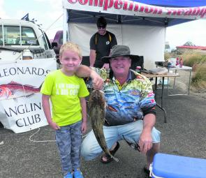 Paul took out Champion Fish with this flatty at the Bellarine Flathead Challenge.