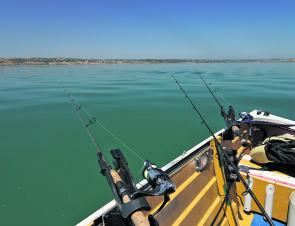 Calm weather doesn't always equate to great fishing!