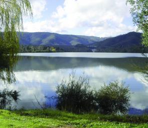 The Eildon Pondage provides peaceful water to fish for trout using either fly, lure or bait.