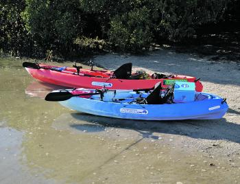 At high tide there are plenty of areas you can launch your kayak. Just be mindful and have a plan for low tide, as the margins in the area are very shallow.