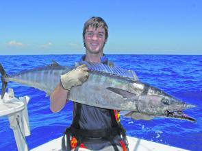 You don't hear many complaints when your by-catch is a monster wahoo.