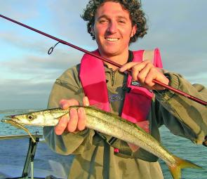 Larger snook show up in Geelong and off Torquay in about 4-6m of water.