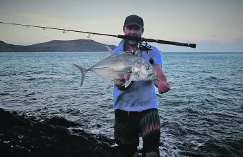 A fantastic giant trevally.