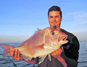 Early morning is a great time to fish for snapper, especially in the Frankston area.