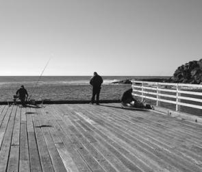 The Tathra wharf is a popular fishing location where many fishing memories have been enacted.