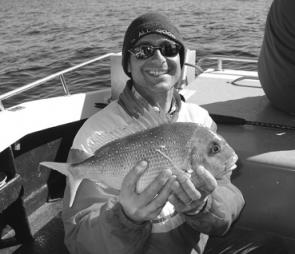 Out from White Rock, snapper have been turning up in angler's catches.